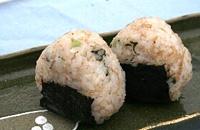 準グランプリ「山椒ジャコ菜のシャキシャキにぎり」西野瑠里子さん